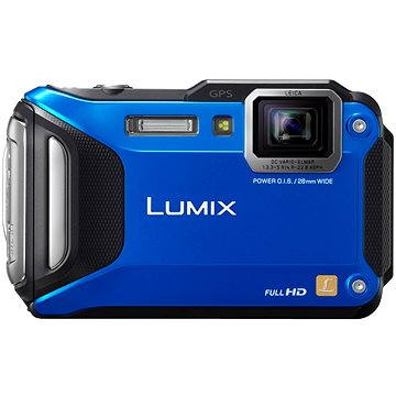 Panasonic LUMIX DMC-FT5 modrý (DMC-FT5EP9-A)
