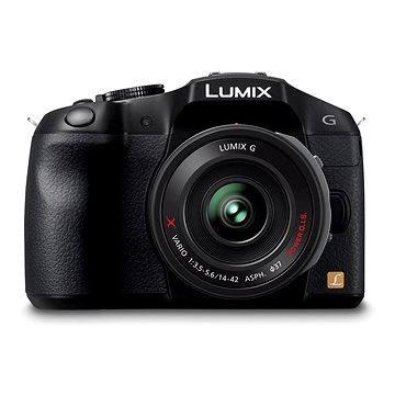 Panasonic LUMIX DMC-G6 černý + objektiv 14-42mm (DMC-G6XEG-K)
