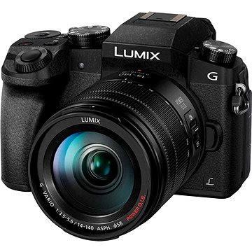 Panasonic LUMIX DMC-G7 černý + objektiv LUMIX G VARIO 14-140 mm (F3.5-5.6) (DMC-G7HEG-K)