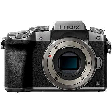 Panasonic LUMIX DMC-G7 stříbrný (DMC-G7EG-S) + ZDARMA Brašna na fotoaparát Lowepro Format 110 černý