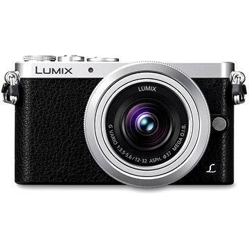 Panasonic LUMIX DMC-GM1 stříbrný + objektiv 12-32mm (DMC-GM1KEG-S)