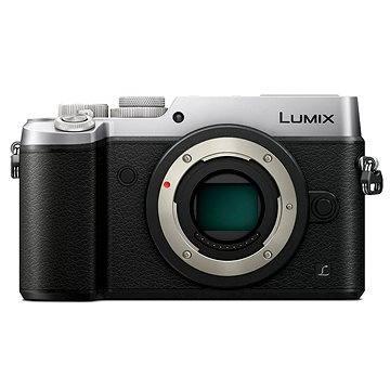 Panasonic LUMIX DMC-GX8 stříbrný tělo (DMC-GX8EG-S) + ZDARMA Brašna na fotoaparát Lowepro Format 110 černý