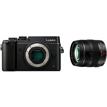 Panasonic LUMIX DMC-GX8 černý + objektiv 12-35mm/F2.8 (DMC-GX8AEG-K) + ZDARMA Brašna na fotoaparát Lowepro Format 110 černý