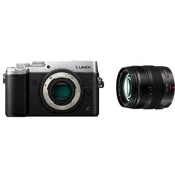 Panasonic LUMIX DMC-GX8 stříbrný + objektiv 12-35mm/F2.8 (DMC-GX8AEG-S) + ZDARMA Brašna na fotoaparát Lowepro Format 110 černý