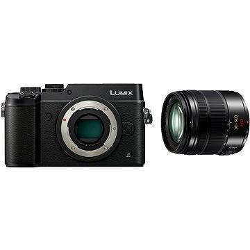 Panasonic LUMIX DMC-GX8 černý + objektiv 14-140mm/F3.5-5.6 ASPH (DMC-GX8HEG-K) + ZDARMA Brašna na fotoaparát Lowepro Format 110 černý
