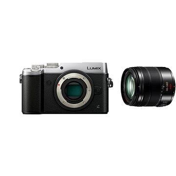 Panasonic LUMIX DMC-GX8 stříbrný + objektiv 14-140mm/F3.5-5.6 ASPH (DMC-GX8HEG-S)