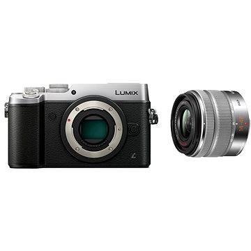 Panasonic LUMIX DMC-GX8 stříbrný+ objektiv 14-42mm/F3.5-5.6 ASPH (DMC-GX8KEG-S) + ZDARMA Brašna na fotoaparát Lowepro Format 110 černý