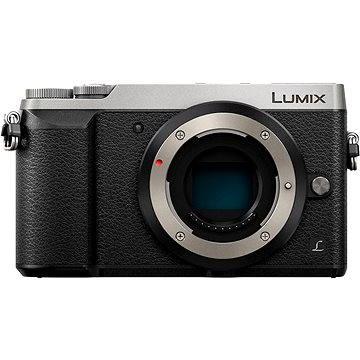 Panasonic LUMIX DMC-GX80 stříbrný tělo (DMC-GX80EG-S) + ZDARMA Brašna na fotoaparát Lowepro Format 110 černý