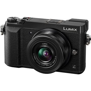 Panasonic LUMIX DMC-GX80 černý + objektiv 12-32mm (DMC-GX80KEGK)