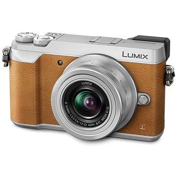 Panasonic LUMIX DMC-GX80 hnědý + objektiv 12-32mm (DMC-GX80KEGT)