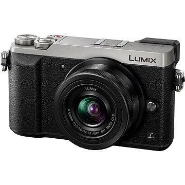 Panasonic LUMIX DMC-GX80 stříbrný + objektiv 12-32mm (DMC-GX80KEGS) + ZDARMA Brašna na fotoaparát Lowepro Format 110 černý