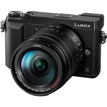 Panasonic LUMIX DMC-GX80 černý + objektiv 14-140mm (DMC-GX80HEGK)