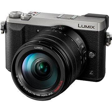 Panasonic LUMIX DMC-GX80 stříbrný + objektiv 14-140mm (DMC-GX80HEGS) + ZDARMA Brašna na fotoaparát Lowepro Format 110 černý