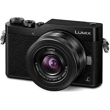 Panasonic LUMIX DMC-GX800 černý + objektiv 12-32mm (DC-GX800KEGK) + ZDARMA Paměťová karta SanDisk MicroSDHC 16GB Ultra Android Class 10 UHS-I + SD adaptér Akumulátory Panasonic DMW-BLG10
