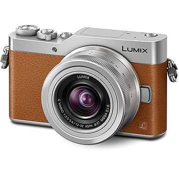 Panasonic LUMIX DMC-GX800 hnědý + objektiv 12-32mm (DC-GX800KEGT)