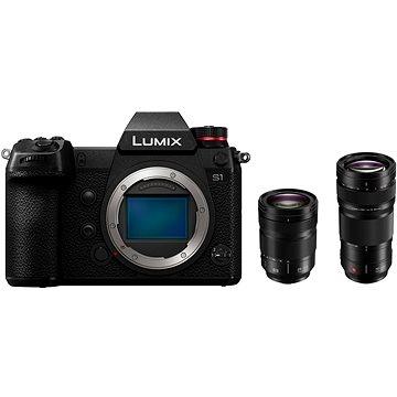 Panasonic LUMIX DC-S1 + objektiv 24-105mm + Panasonic Lumix S Pro 70-200mm f/4.0 OIS