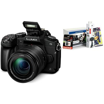 Panasonic LUMIX DMC-G80 + objektiv 12-60mm + Alza Foto Video Starter Kit 2019
