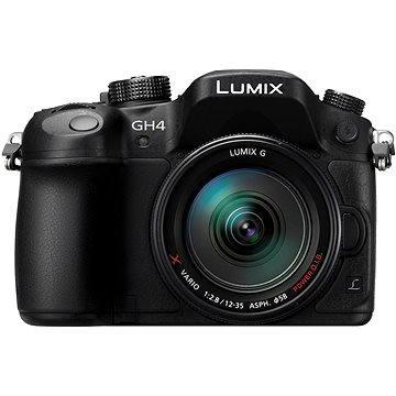 Panasonic LUMIX DMC-GH4R + Lumix G X Vario 12-35 mm (DMC-GH4RAEG-K) + ZDARMA Brašna na fotoaparát Lowepro Format 110 černý