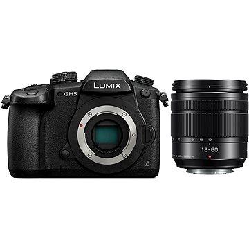 Panasonic LUMIX DC-GH5 + Lumix G Vario 12-60mm F3.5-5.6 ASPH (DC-GH5MEG-K)