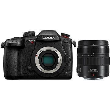 Panasonic LUMIX DC-GH5S tělo + Panasonic Lumix G X 12-35mm f/2.8 II Power OIS černý