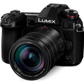 Panasonic LUMIX DC-G9 + Leica 12-60mm f/2.8-4.0 ASPH Power OIS černý (DC-G9LEG-K) + ZDARMA Objektiv Panasonic Lumix G 25mm f/1.7 ASPH černý Battery Grip Panasonic DMW-BGG9E