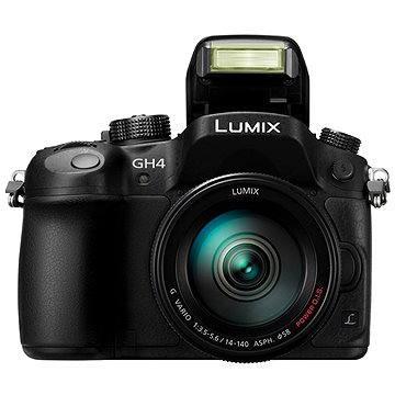 Panasonic LUMIX DMC-GH4 + objektiv LUMIX G VARIO 14-140mm (F3.5-5.6) (DMC-GH4HEG-K) + ZDARMA Brašna na fotoaparát Lowepro Format 110 černý