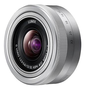 Panasonic Lumix G Vario 12-32mm f/3.5-5.6 stříbrný (H-FS12032E-S)