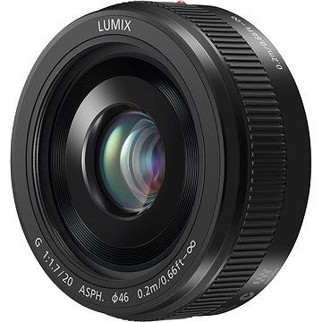 Panasonic Lumix G 20mm f/1.7 černý (H-H020E)