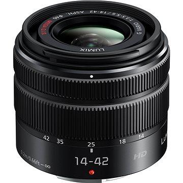 Panasonic Lumix G Vario 14-42mm f/3.5-5.6 černý (H-FS1442AE-S)