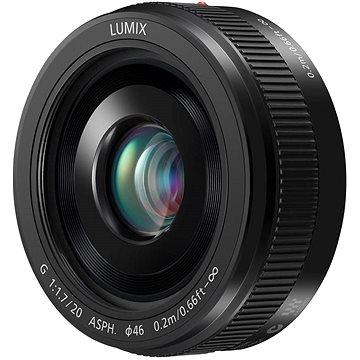 Panasonic Lumix G 20mm f/1.7 černý (H-H020AE-K)