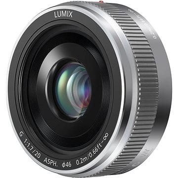 Panasonic Lumix G 20mm f/1.7 stříbrný (H-H020AE-S)
