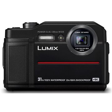 Panasonic LUMIX DMC-FT7 černý (DC-FT7EP-K)
