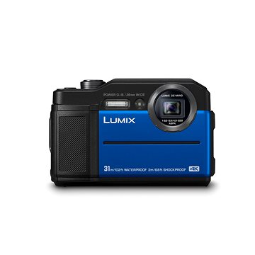 Panasonic LUMIX DMC-FT7 modrý (DC-FT7EP-A)