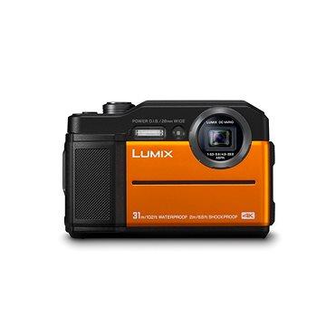 Panasonic LUMIX DMC-FT7 oranžový (DC-FT7EP-D)