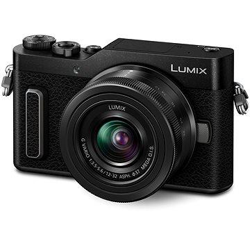 Panasonic LUMIX DC-GX880 černý + Lumix G Vario 12-32mm + 35-100mm ASPH MEGA O.I.S (DC-GX880WEGK)