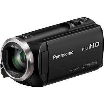 Panasonic HC-V260 černá (HC-V260EP-K)