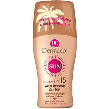 Mléko na opalování DERMACOL Sun Mléko na opalování SPF 15 200 ml (8595003103466)