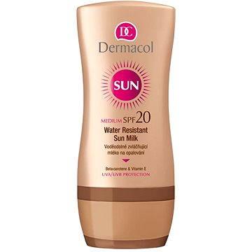 Mléko na opalování DERMACOL Sun Mléko na opalování SPF 20 200 ml (8595003103503)