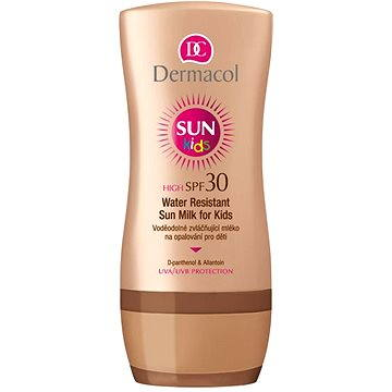 Mléko na opalování DERMACOL Sun Water Resistant Sun Milk For Kids SPF 30 200 ml (8595003103527)