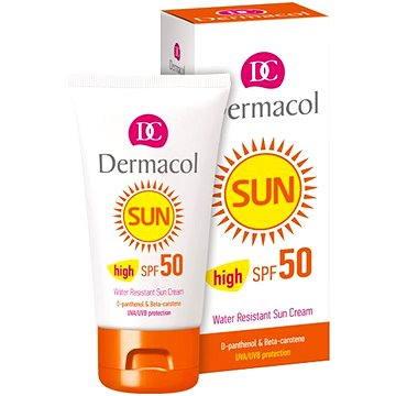 Krém na opalování DERMACOL Sun Zvláčňující krém na opalování SPF 50 (50 ml) (8595003103541)