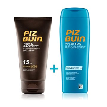 PIZ BUIN Tan & Protect Lotion SPF15 + After Sun Soothing&Cooling Lotion (2960000033638)
