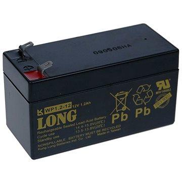 Long 12V 1.2Ah olověný akumulátor F1 (WP1.2-12) (PBLO-12V001,2-F1A)