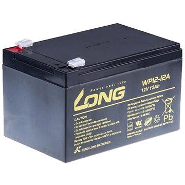 Long 12V 12Ah olověný akumulátor F2 (WP12-12A) (PBLO-12V012-F2A)