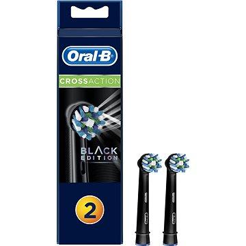 Oral-B náhradní hlavice EB50 CrossAction Black 2ks (4210201215295)