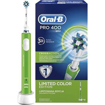 Elektrický zubní kartáček Oral B Pro 400 Green (4210201135654)