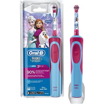 Elektrický zubní kartáček Oral B Vitality Kids D12K Frozen (4210201154686)