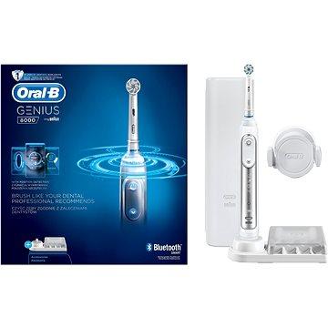 Elektrický zubní kartáček Oral B Genius PRO 8000 + ZDARMA Náhradní nástavec pro zubní kartáčky Oral B EB 50-4 Cross Action