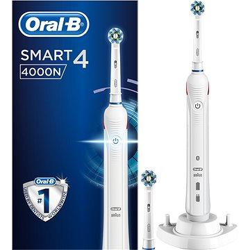 Elektrický zubní kartáček Oral-B Smart 4 cross action (4210201177180) + ZDARMA Stolní mixér Electrolux Fitness mixér PerfektMix ESB2450