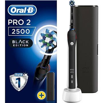 Elektrický zubní kartáček Oral-B PRO2500 CA (4210201183501) + ZDARMA Náhradní nástavec pro zubní kartáčky Oral B EB 50-2 Cross Action