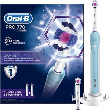Oral-B Pro 770 3D white Elektrický kartáček (4210201124801)